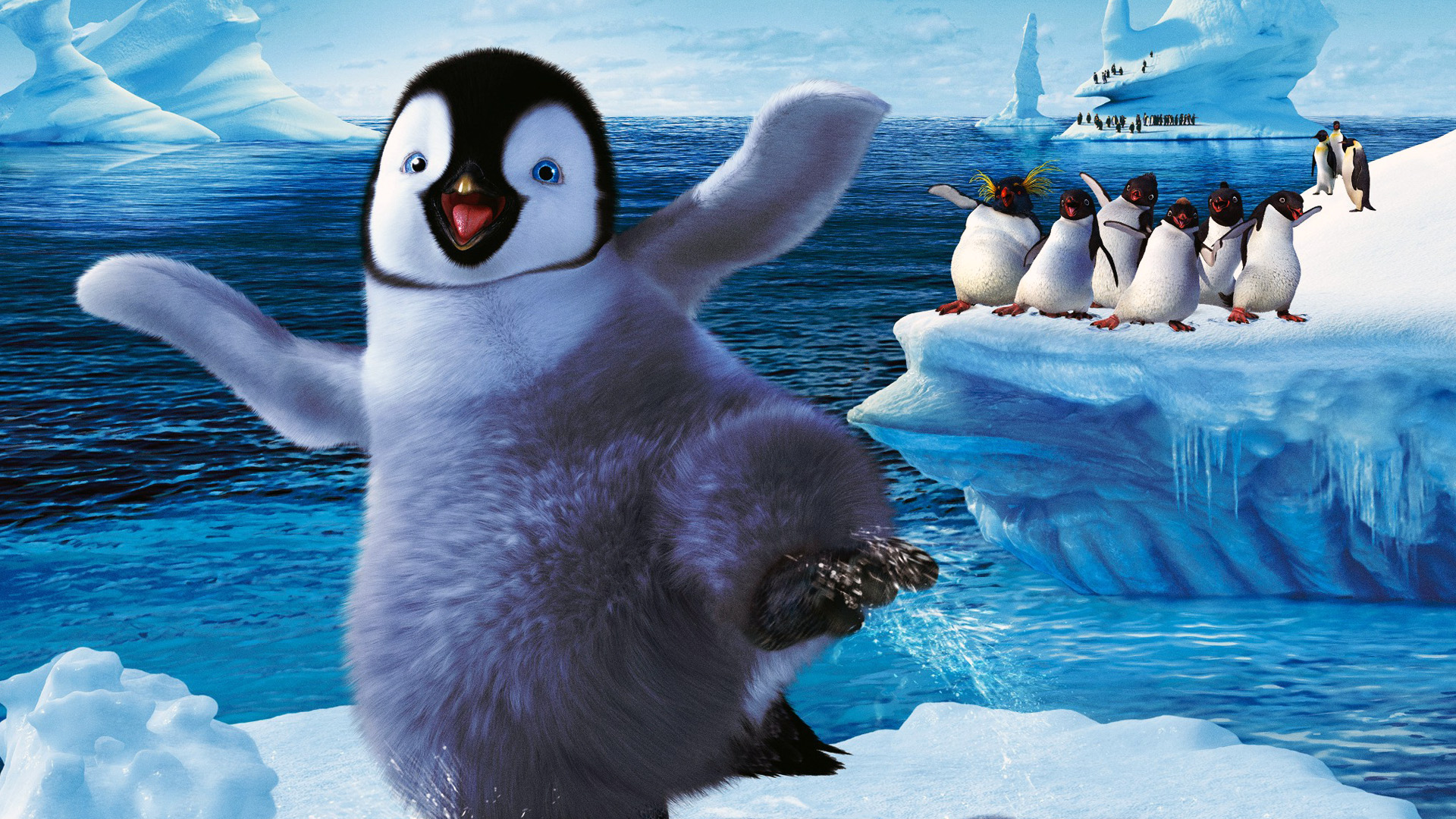The Happy Feet 2 Wallpaper 1920x1080