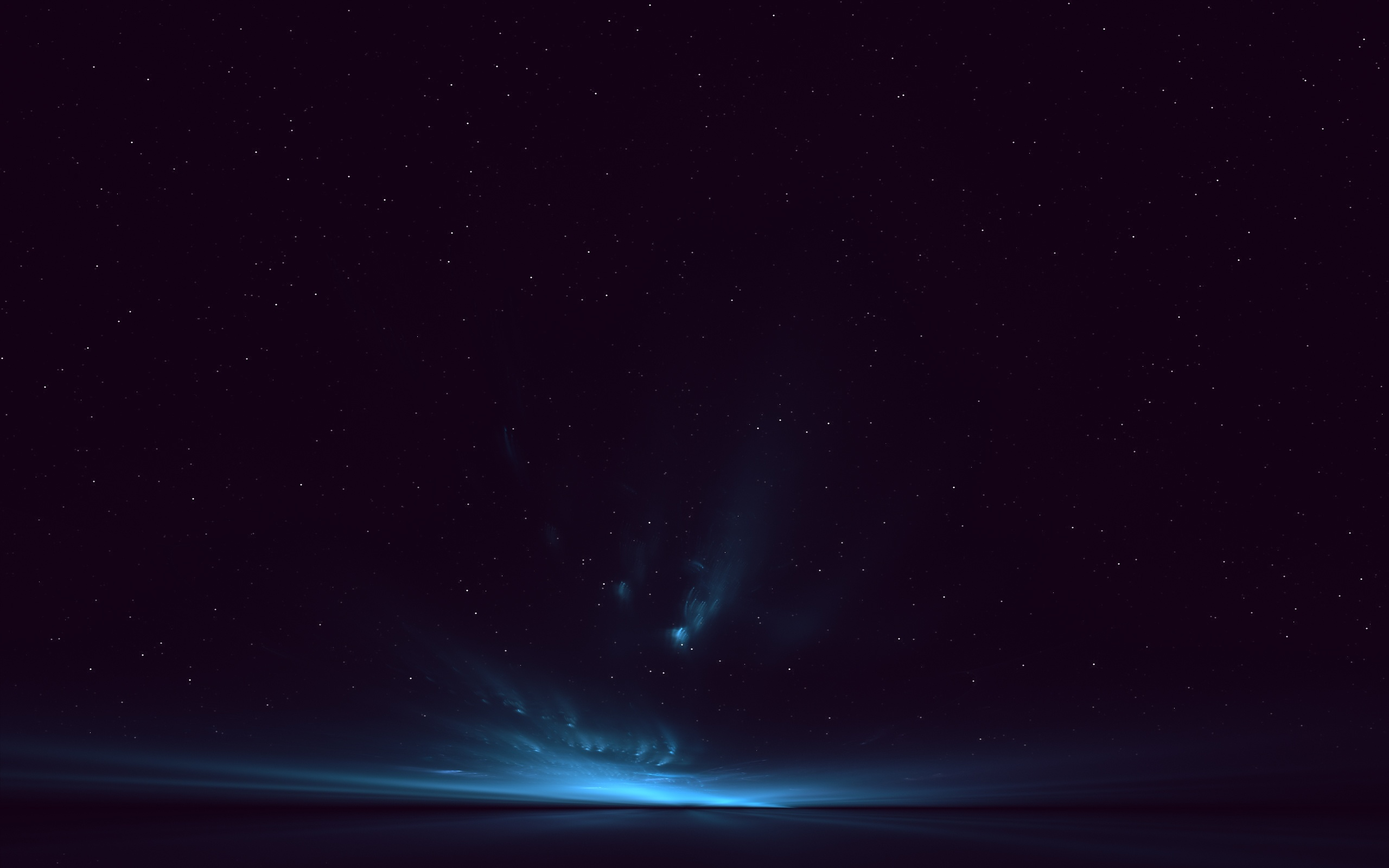 Space Deep Dark Blue Clouds Wallpaper 2560x1600