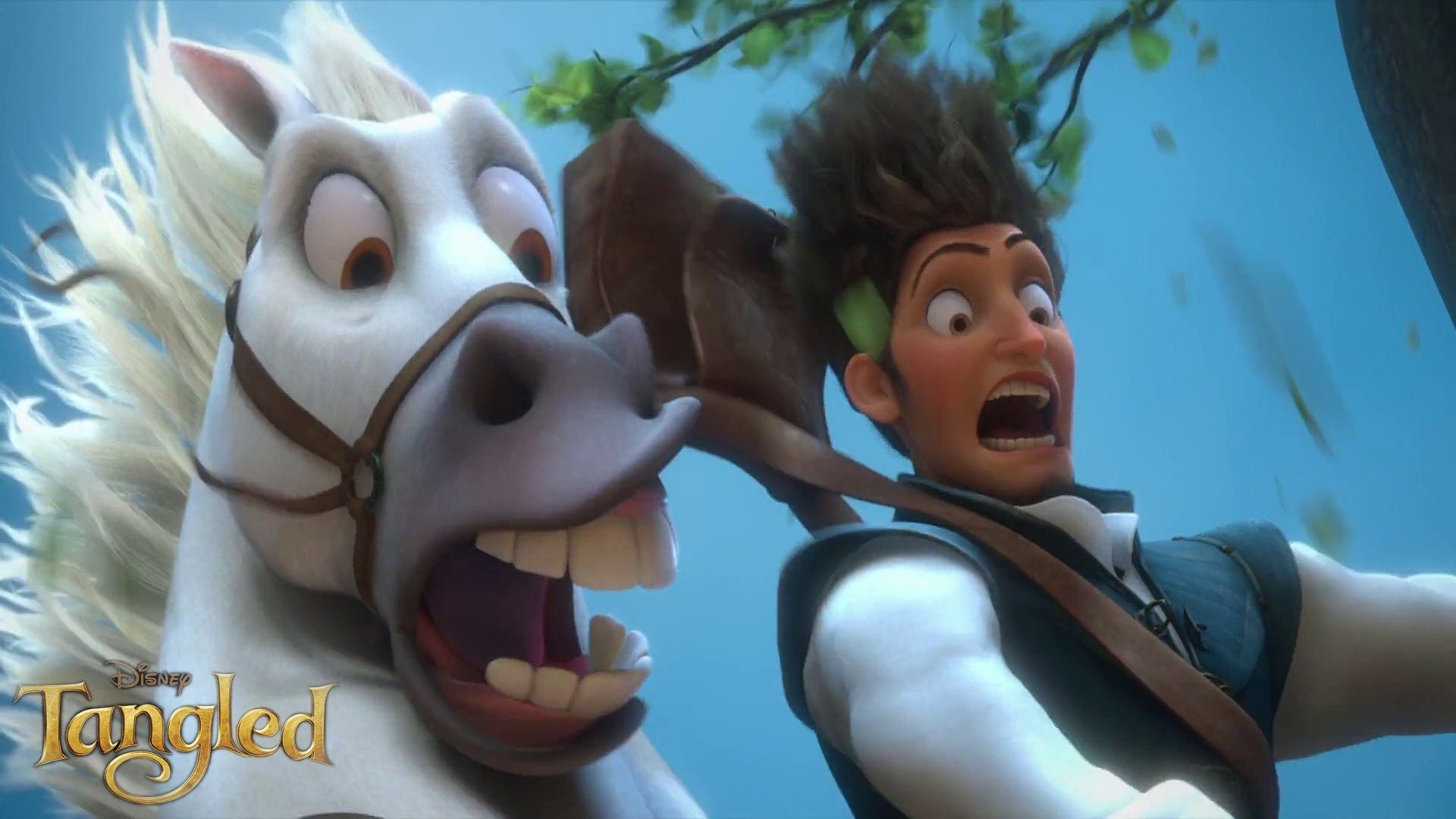 Flynn Rider images Flynn and Maximus HD wallpaper and background 1920x1080