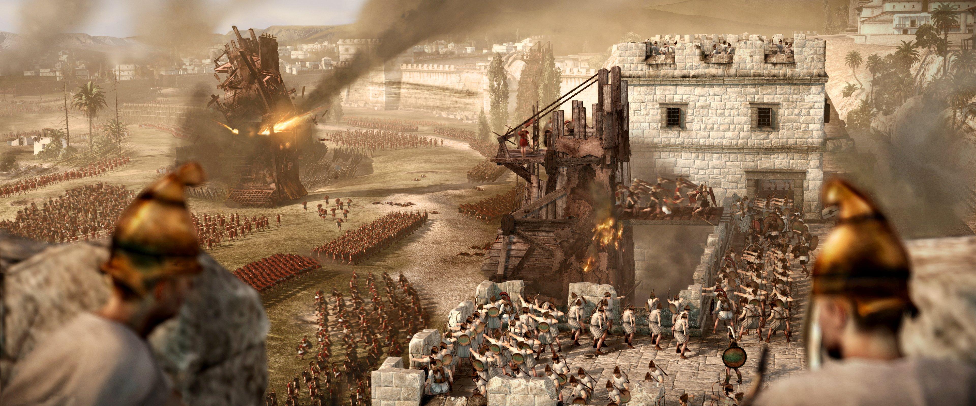 Total War Rome II Computer Wallpapers Desktop Backgrounds 3840x1600