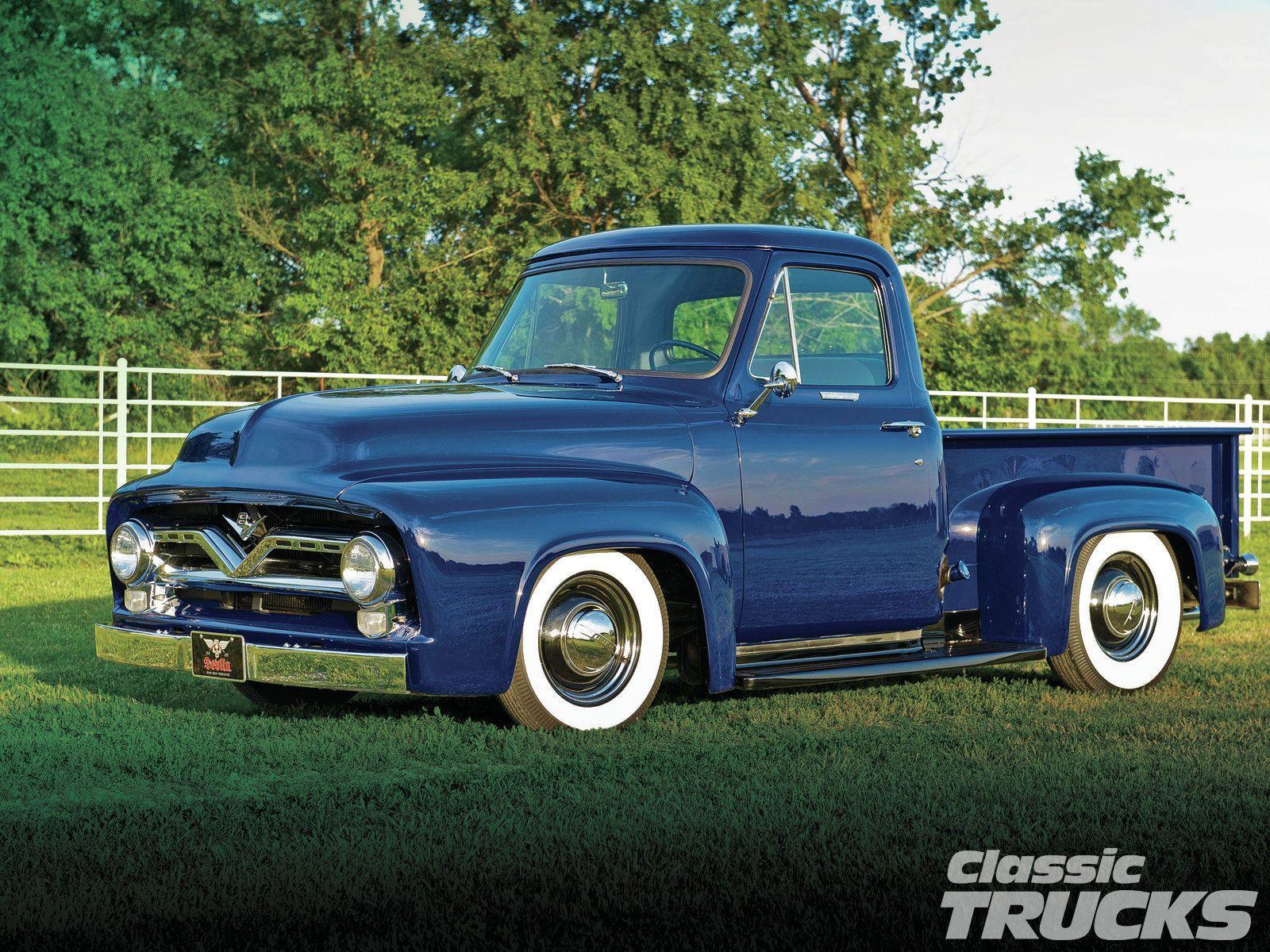 1955 Ford F100 [Desktop wallpaper 1600x1200] Trucks Etc 1600x1200