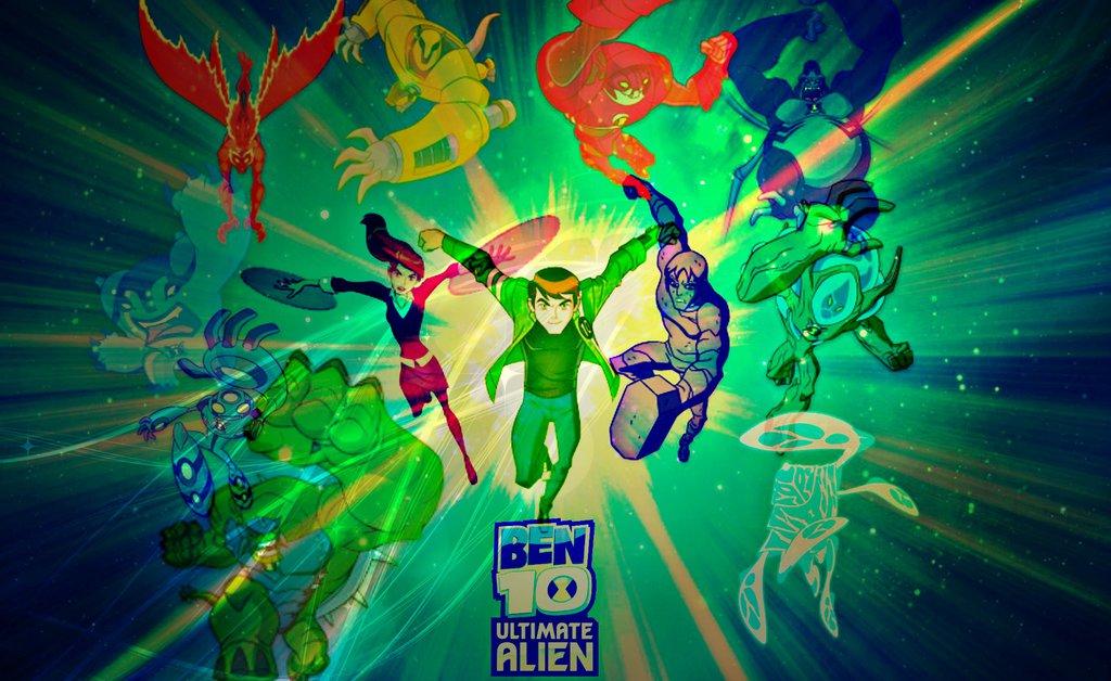 ben 10 ultimate alien wallpapers wallpapersafari