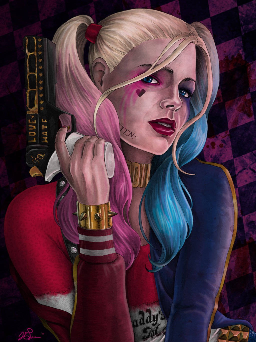 Free Download Margot Robbie As Harley Quinn By Jgiampietro