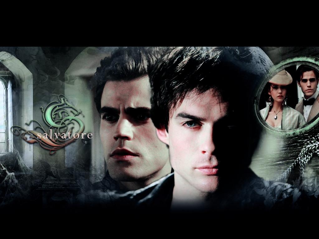 DamonStefan   Damon and Stefan Salvatore Wallpaper 20832316 1024x768