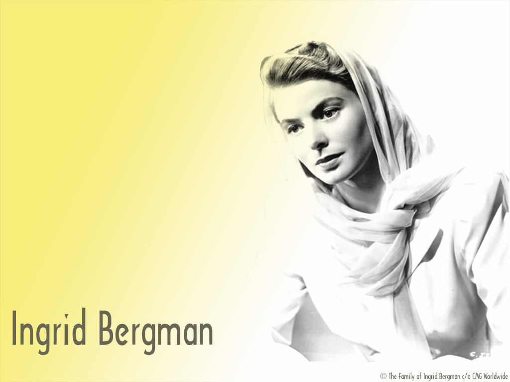 ingrid bergman wallpaper 1024x768
