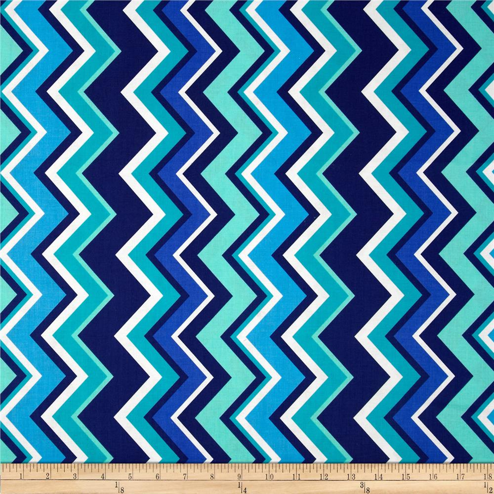 Turquoise Chevron Anchor Background Michael miller chevy chevron 1000x1000