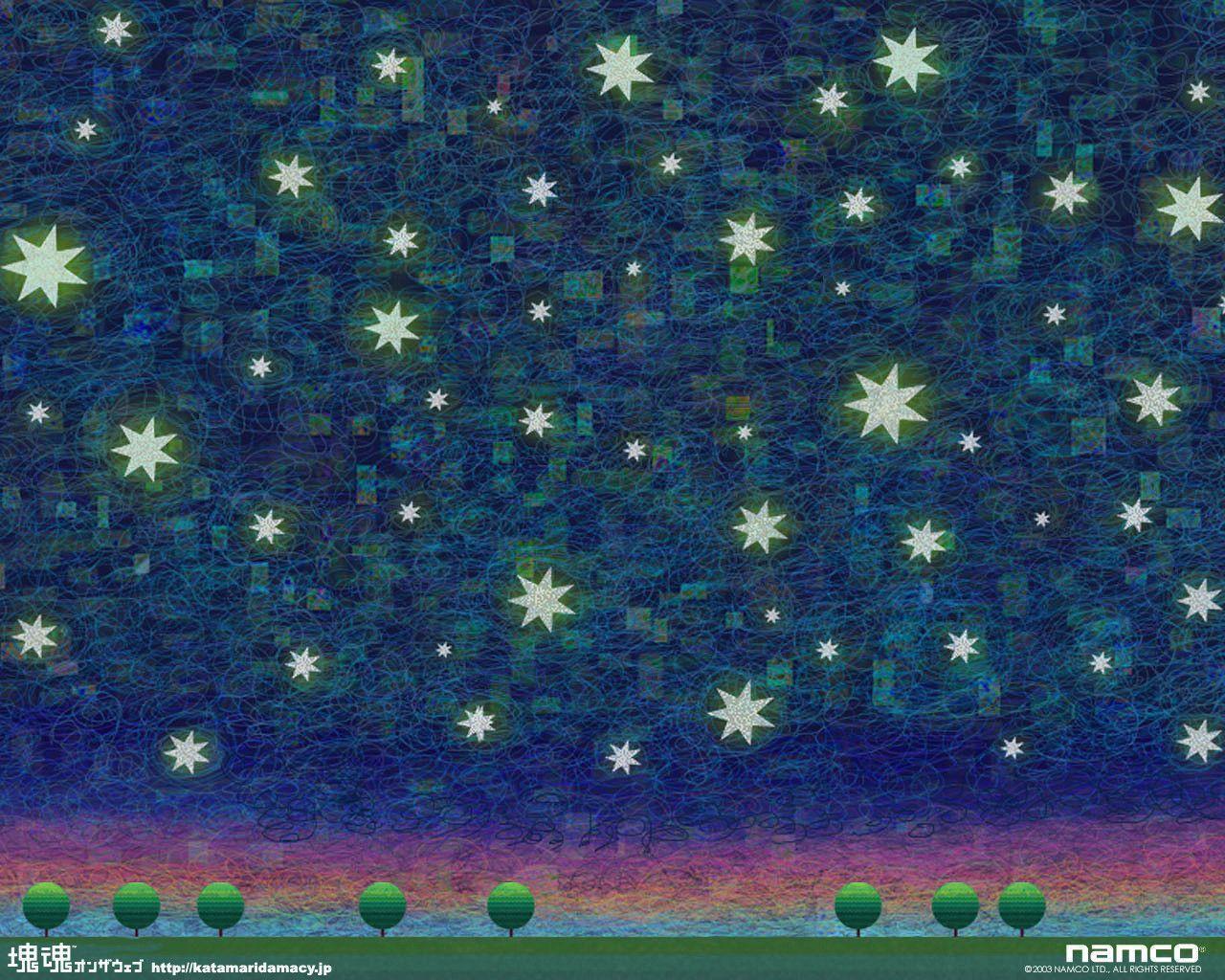 Katamari Backgrounds 1280x1024