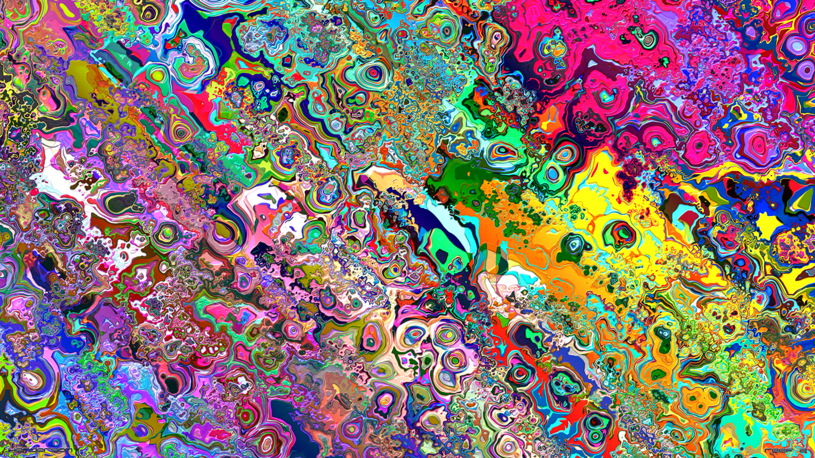 40 Psychedelic and Trippy Backgrounds for your desktop 1600x900