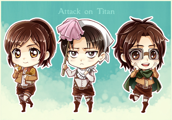 Showing Gallery For Attack On Titan Sasha Chibi Wallpaper 700x489