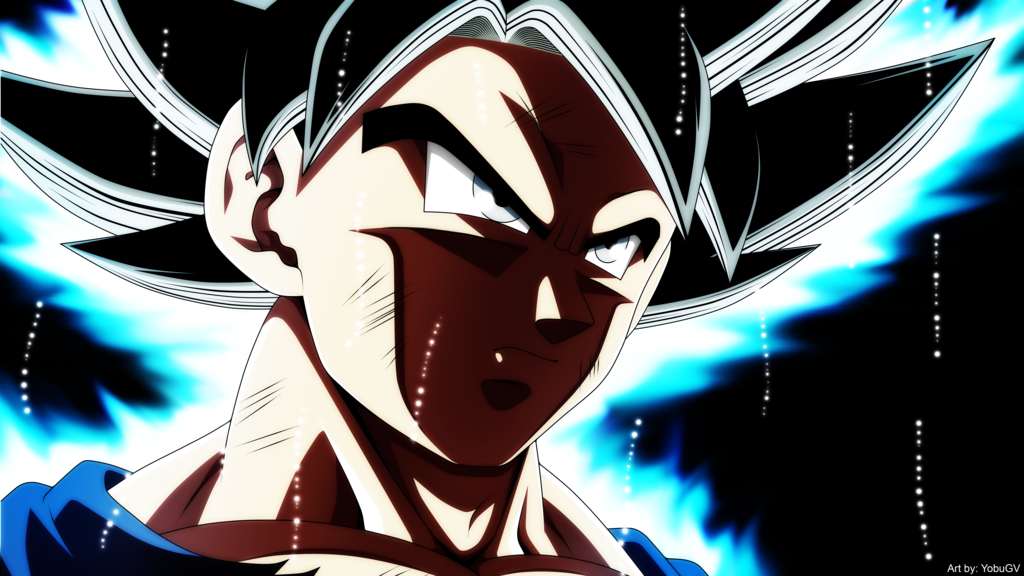 Goku Ultra Instinct by YobuGV 1024x576