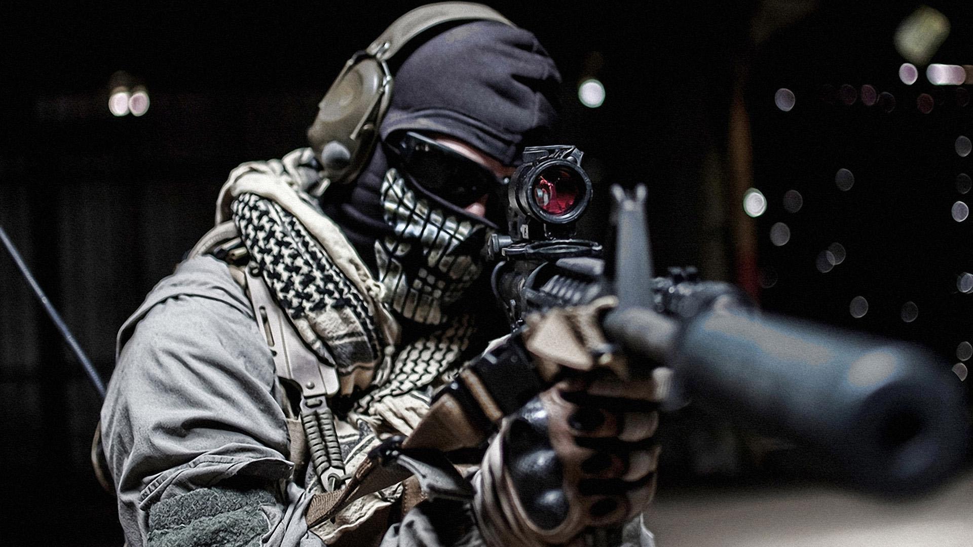 49+] Call of Duty Sniper Wallpaper on