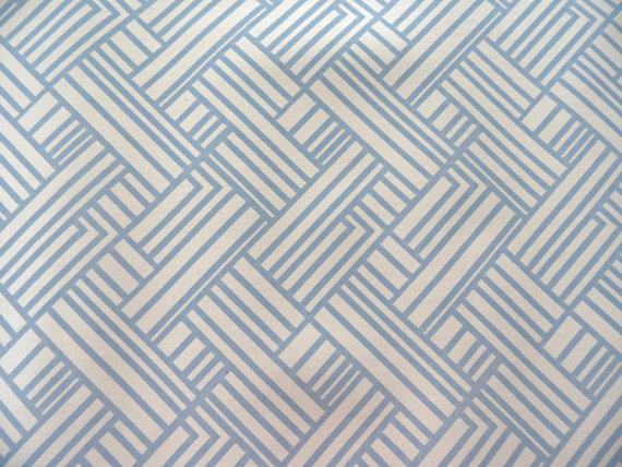 Blue geometric wallpaper   1 yard of vinyl wallpaper with a modern 570x428