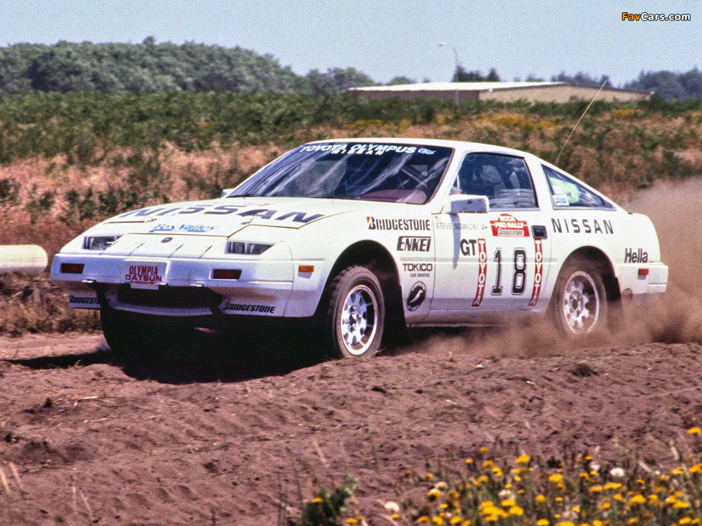 Nissan 300ZX Rally Car Z31 1985 images 1024x768 1024x768