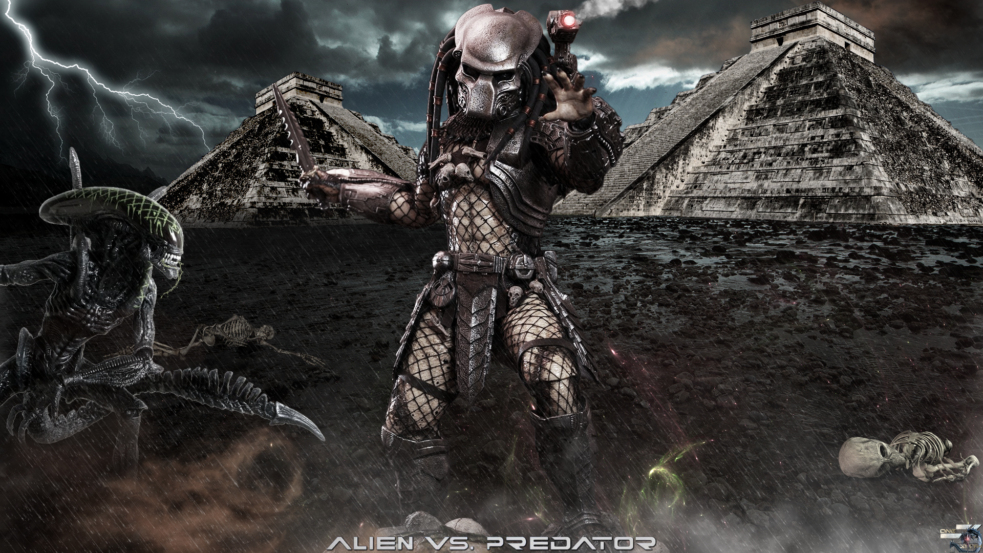 AVP   Ancient Predator   Hot Toys Full HD Wallpaper 1920x1080
