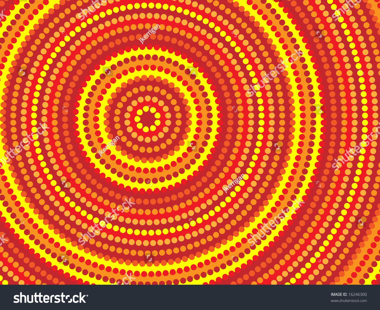 Jpeg Background Aboriginal Style Symbolic Design Stock 1500x1225