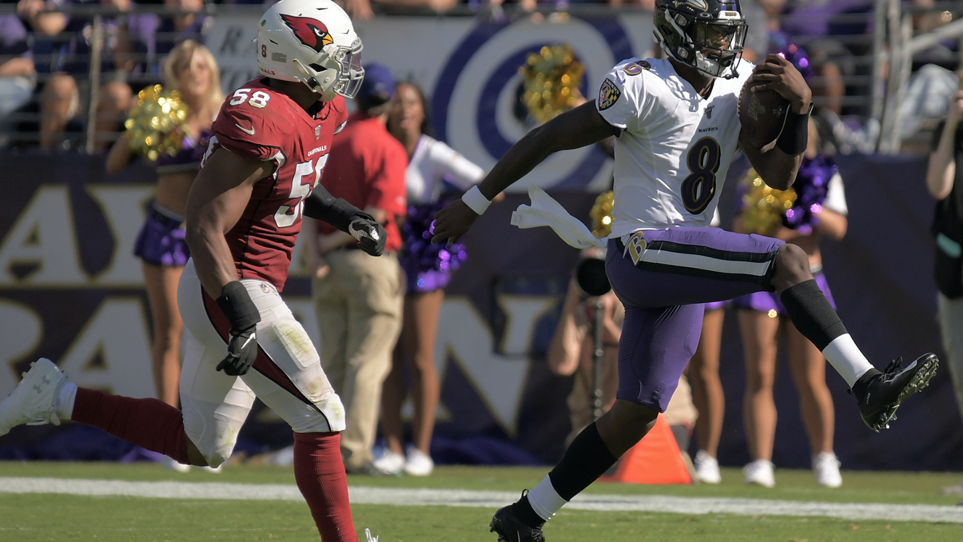 Preston Lamar Jackson is the Ravens No 1 weapon and will carry 1920x1080