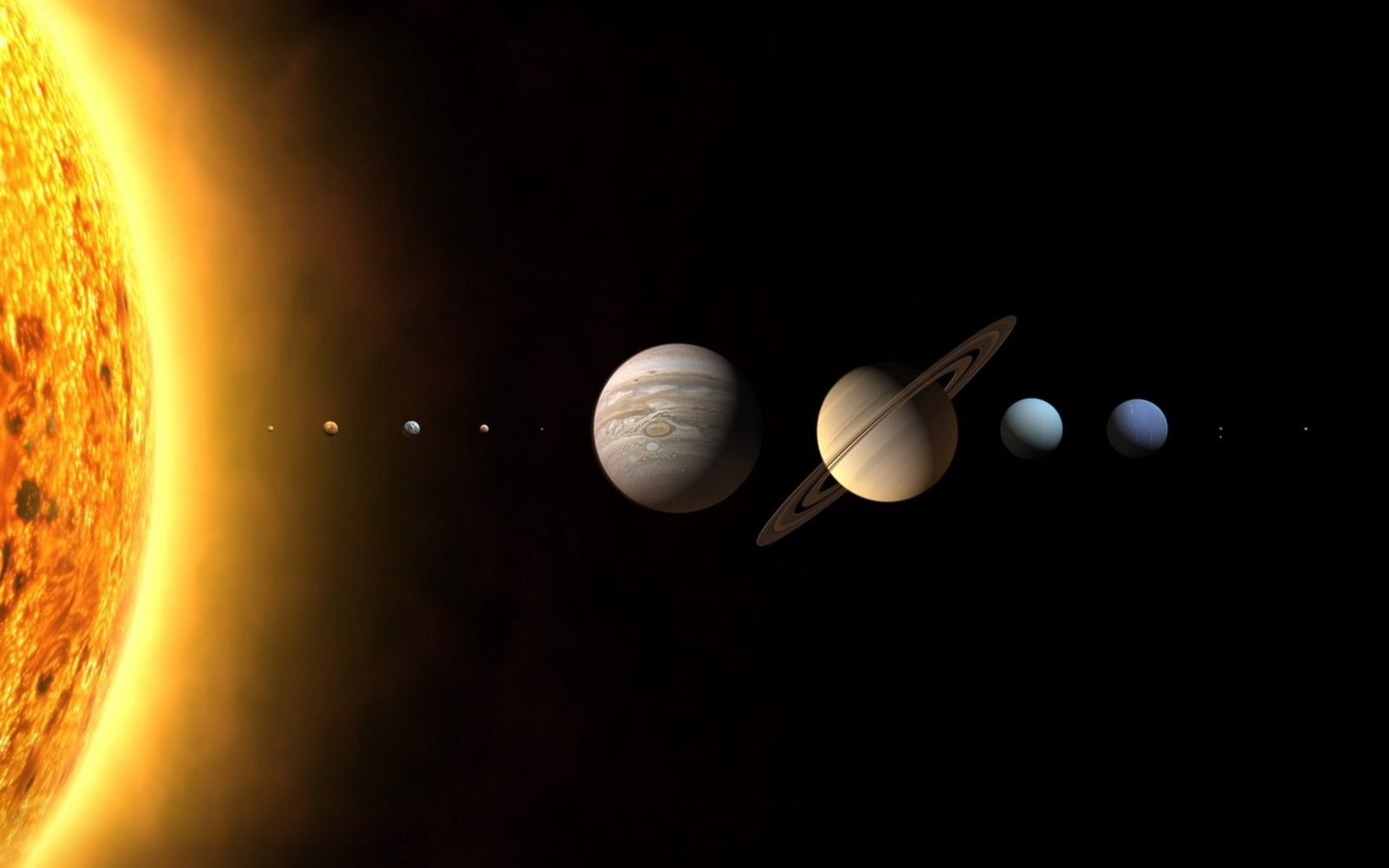 Solar System Planets wallpapers and images   wallpapers pictures 1680x1050