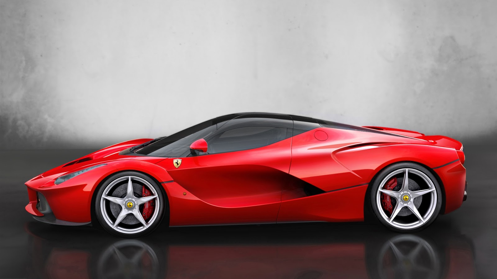 Ferrari Red Supercar | Full HD Desktop Wallpapers 1080p