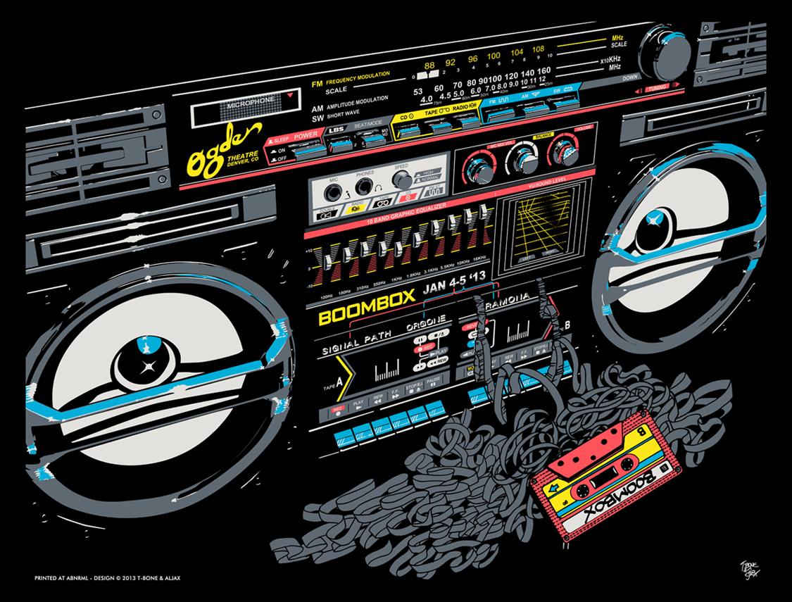 Boombox Wallpaper - WallpaperSafari