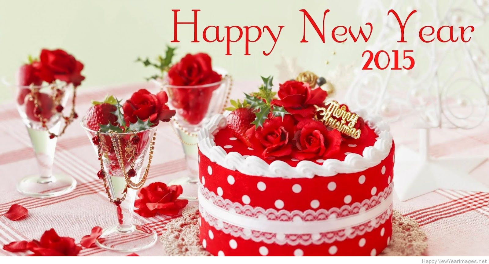 Cake Happy New Year 2015 Wallpapers Images 738030   Ongur 1600x864