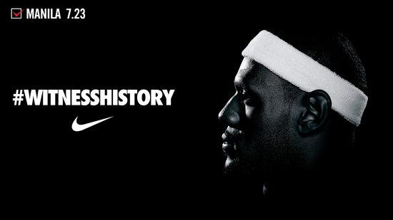 WitnessHistory Nike Philippines brings Lebron James to Manila 550x309
