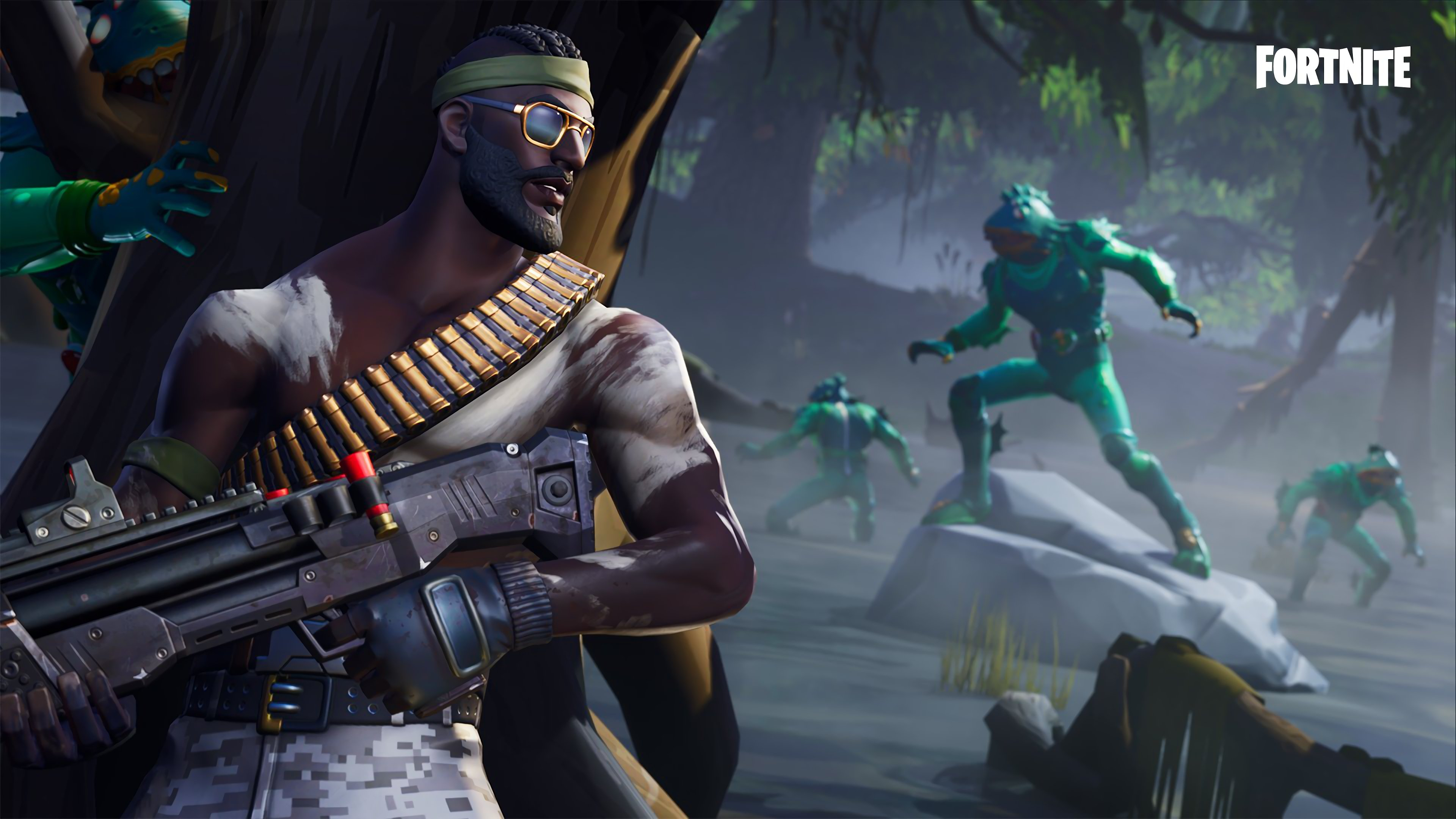 Moisty Merman 4K 8K HD Fortnite Battle Royale Wallpaper 3840x2160