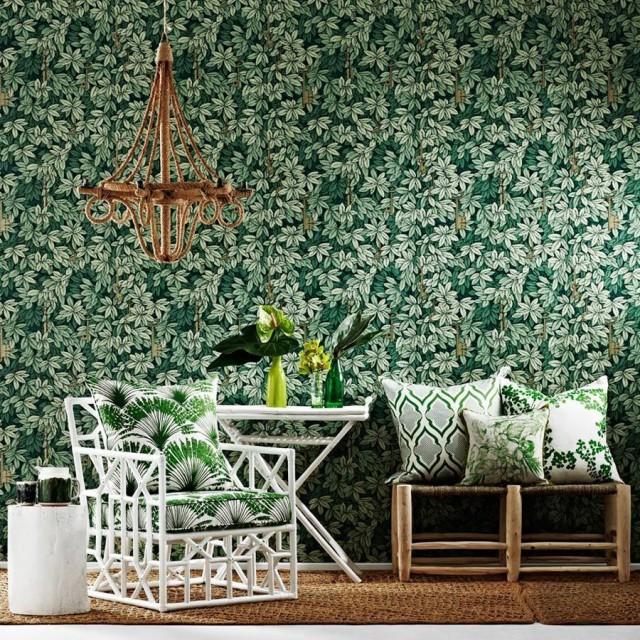 Fornasettis Chiavi Segrete Wallpaper Making it Lovely 640x640