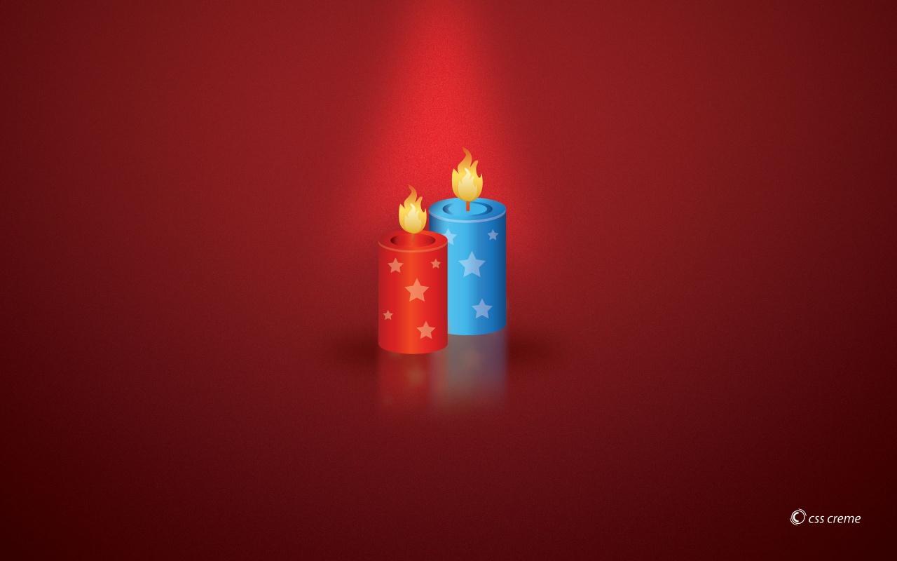 Flashing Christmas Light   HD Wallpapers Widescreen   1280x800 1280x800