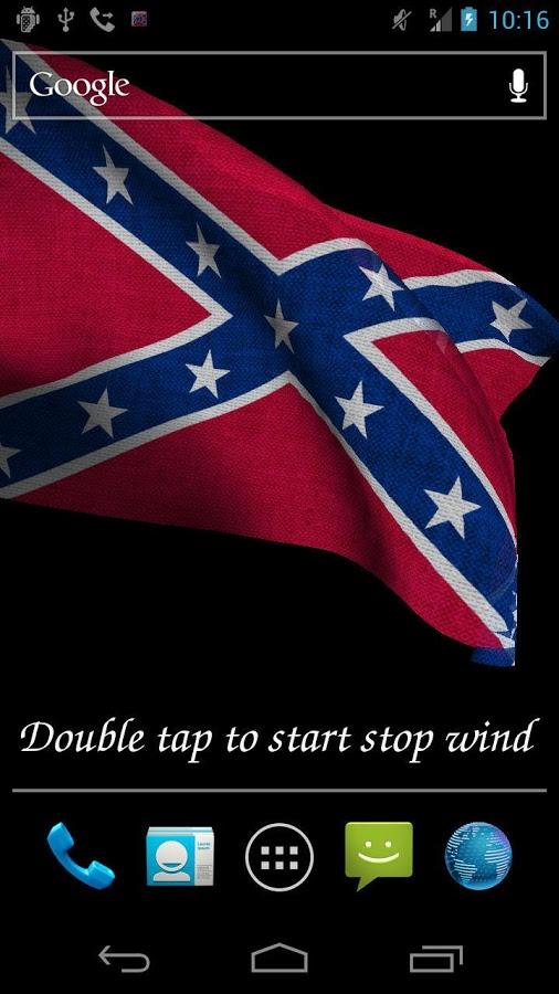 Rebel Flag Live Wallpaper   screenshot 506x900