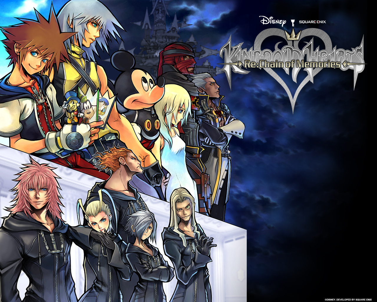 Official Kingdom Hearts Wallpaper kingdom hearts series 2754173 1280 1280x1024