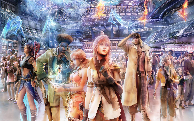 Final Fantasy PS3 Xbox 360 Desktop wallpapers 1440x900 1440x900