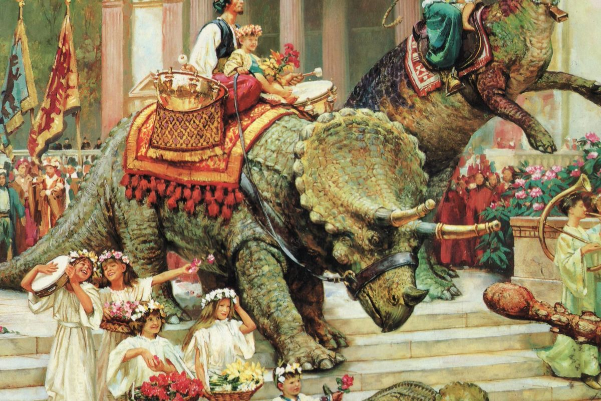 The artist behind Dinotopia started his career riding the rails   Vox 1200x800