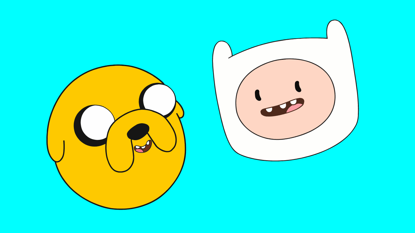 Finn and jake wallpaper wallpapersafari wallpapers finn and jake faces imgur 1366x768 68149 1366x768 altavistaventures Image collections