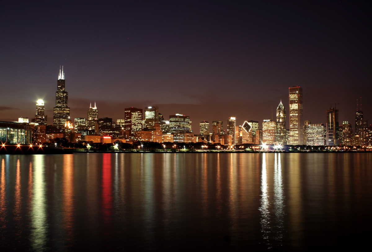 73 Chicago Skyline Background On Wallpapersafari