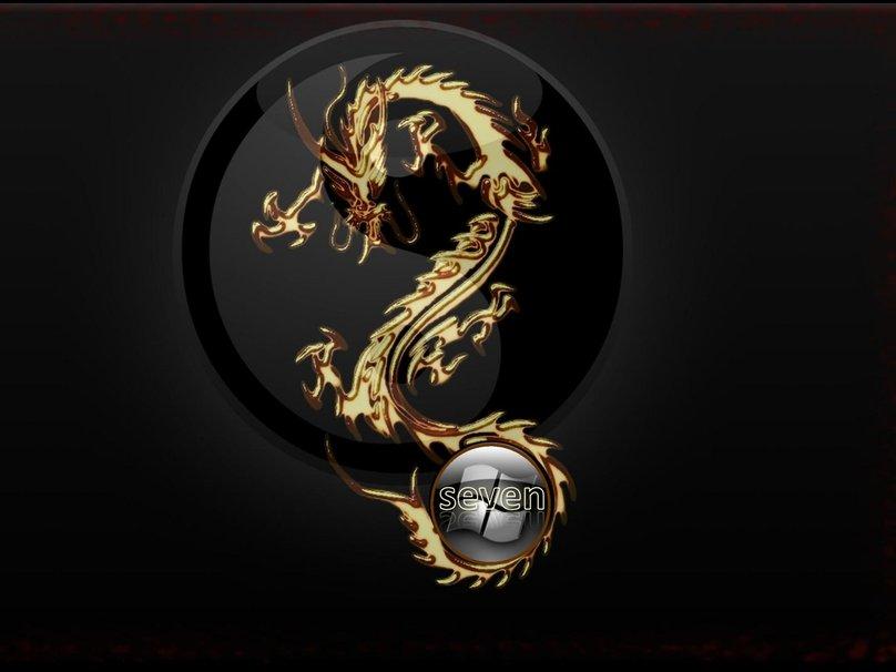 Golden Chinese Dragon Wallpaper Golden dragon wallpaper 808x606