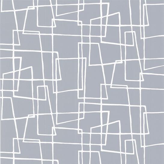 Geometric Wallpaper In Gray Dove gray wallpaper print 546x546
