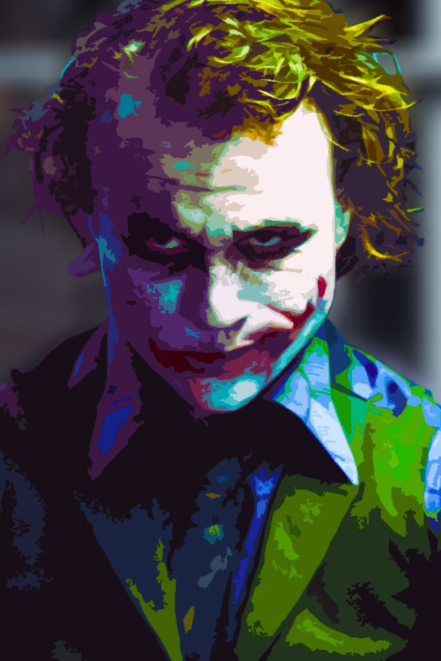 Cool Joker Iphone Wallpapers Joker iphone retina wallpaper 640x960