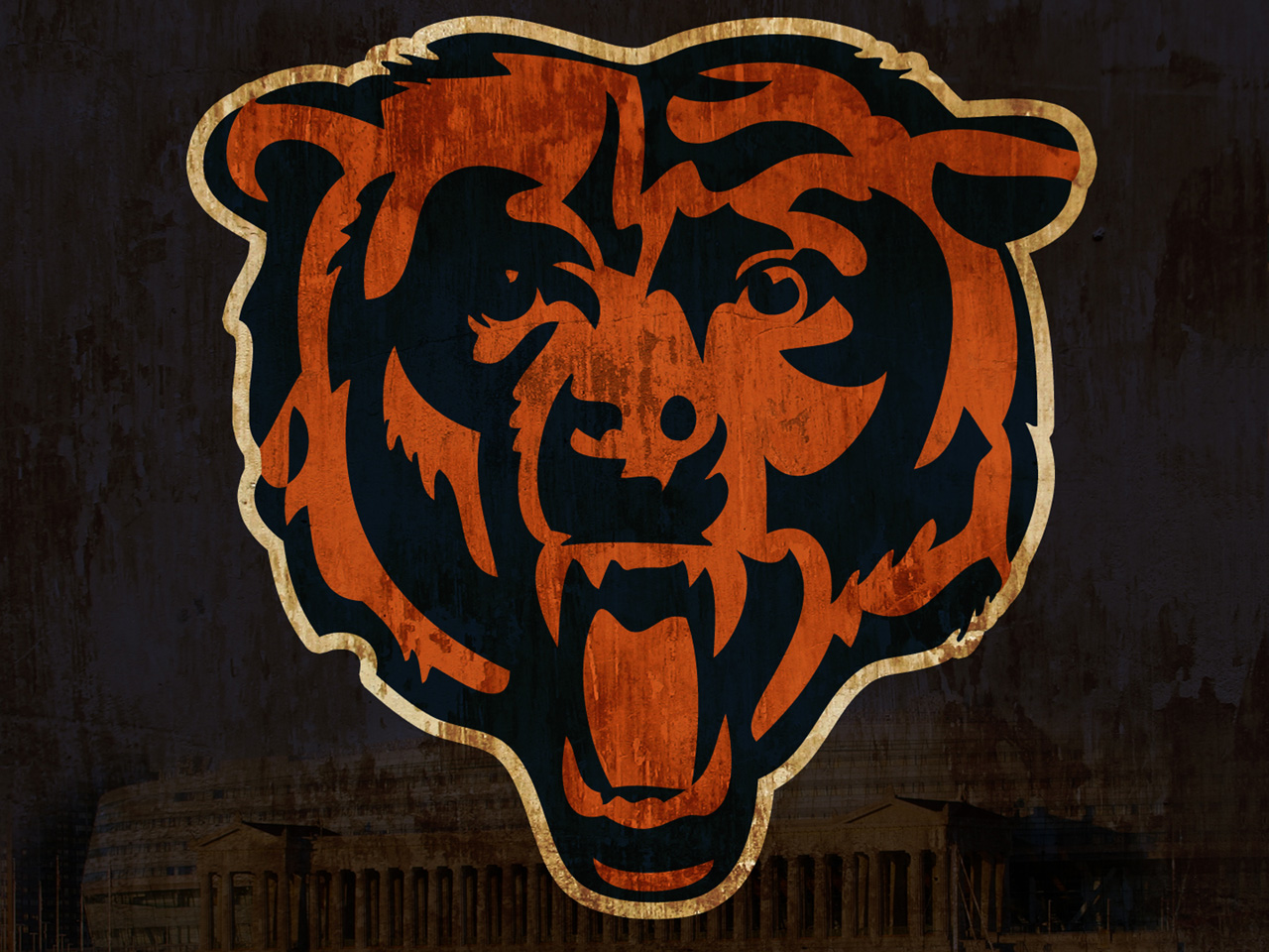 New Chicago Bears background Chicago Bears wallpapers 1280x960