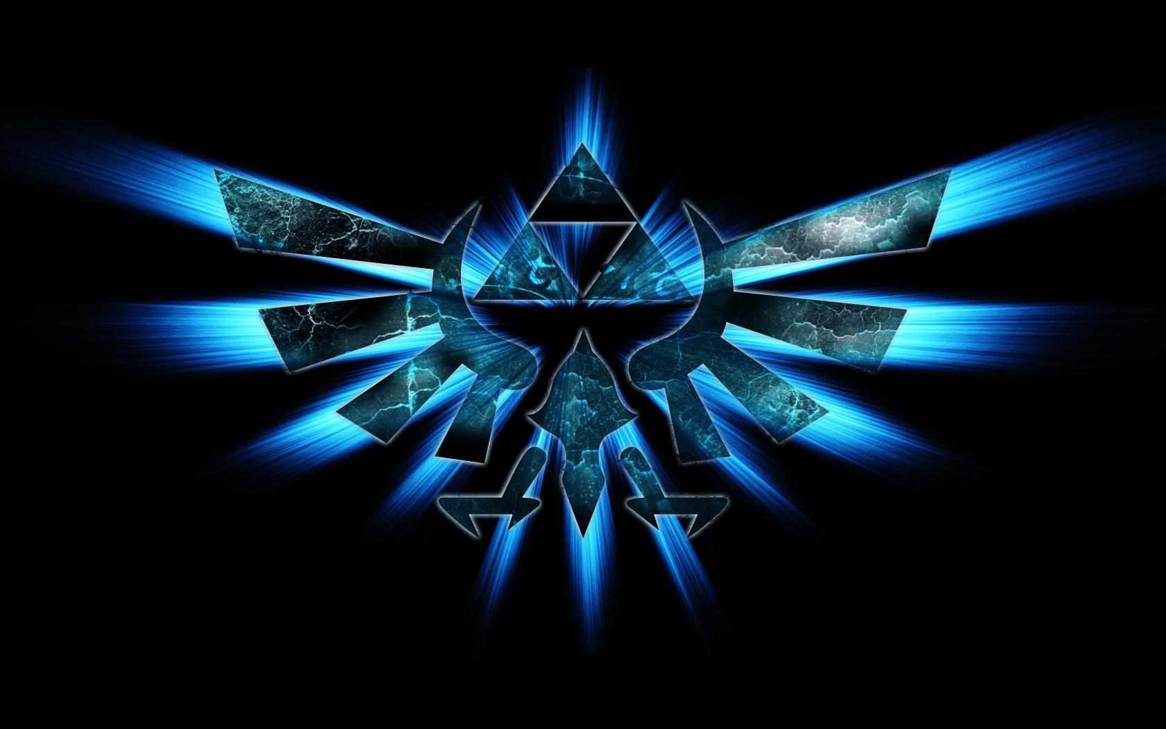 The Legend of Zelda logo hd wallpaper background   HD Wallpapers 1680x1050