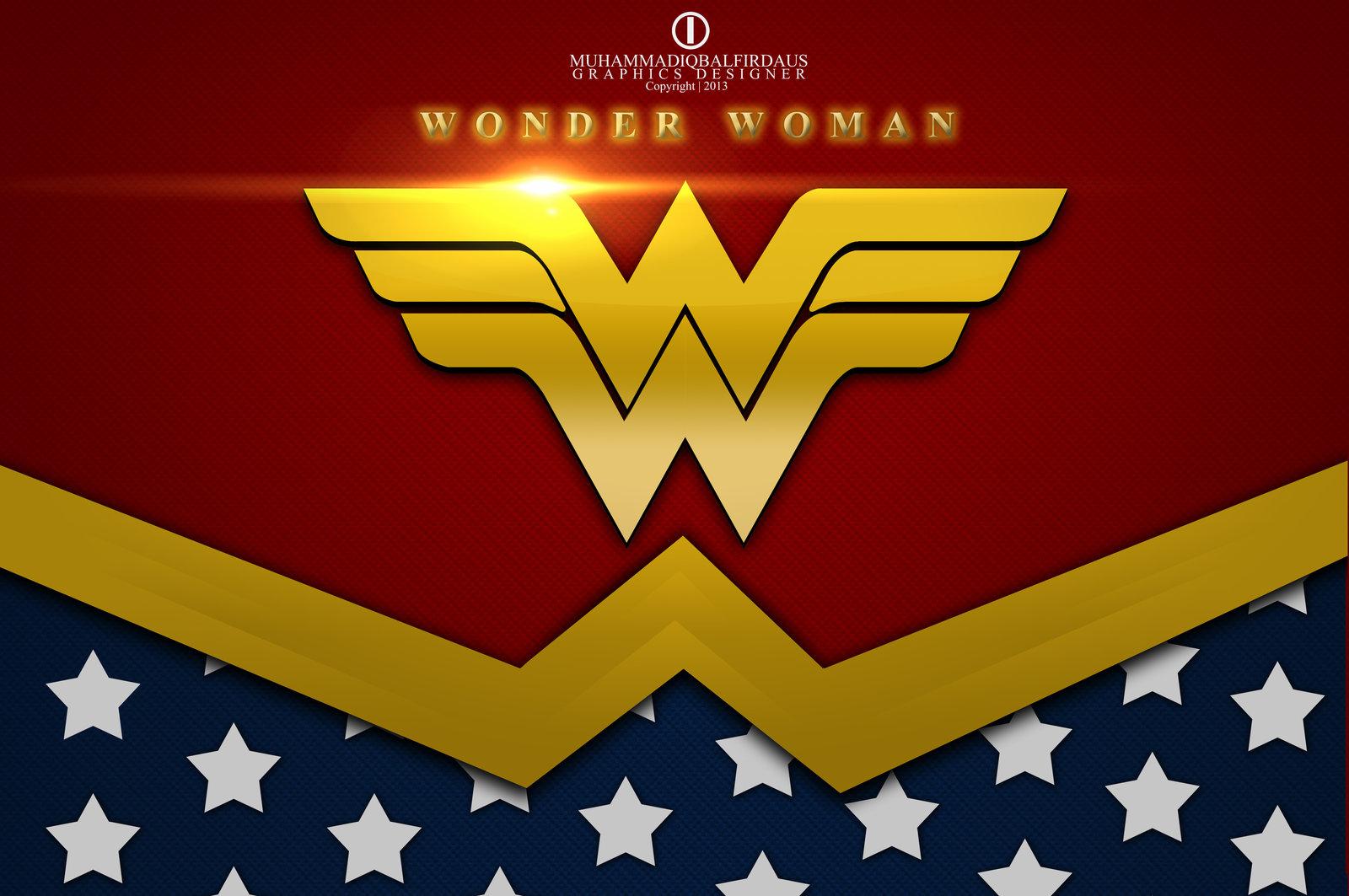 Wonder Woman Logo Wallpaper - WallpaperSafari