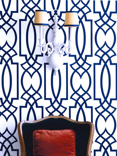 Dolce Vita Wallpaper   Eclectic   entrancefoyer   Eddie Ross 410x546