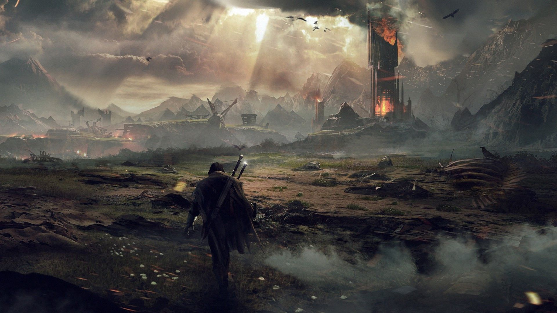Free Download Middle Earth Shadow Of Mordor Wallpaper 1207284