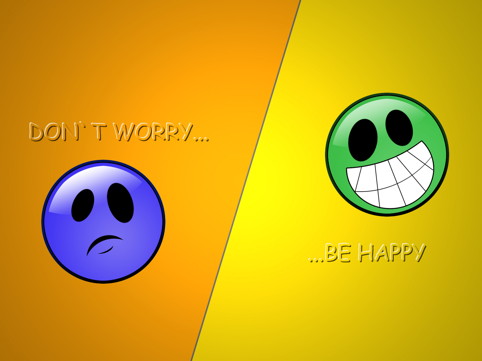 don t worry be happy by Dyoxide 1600x1200