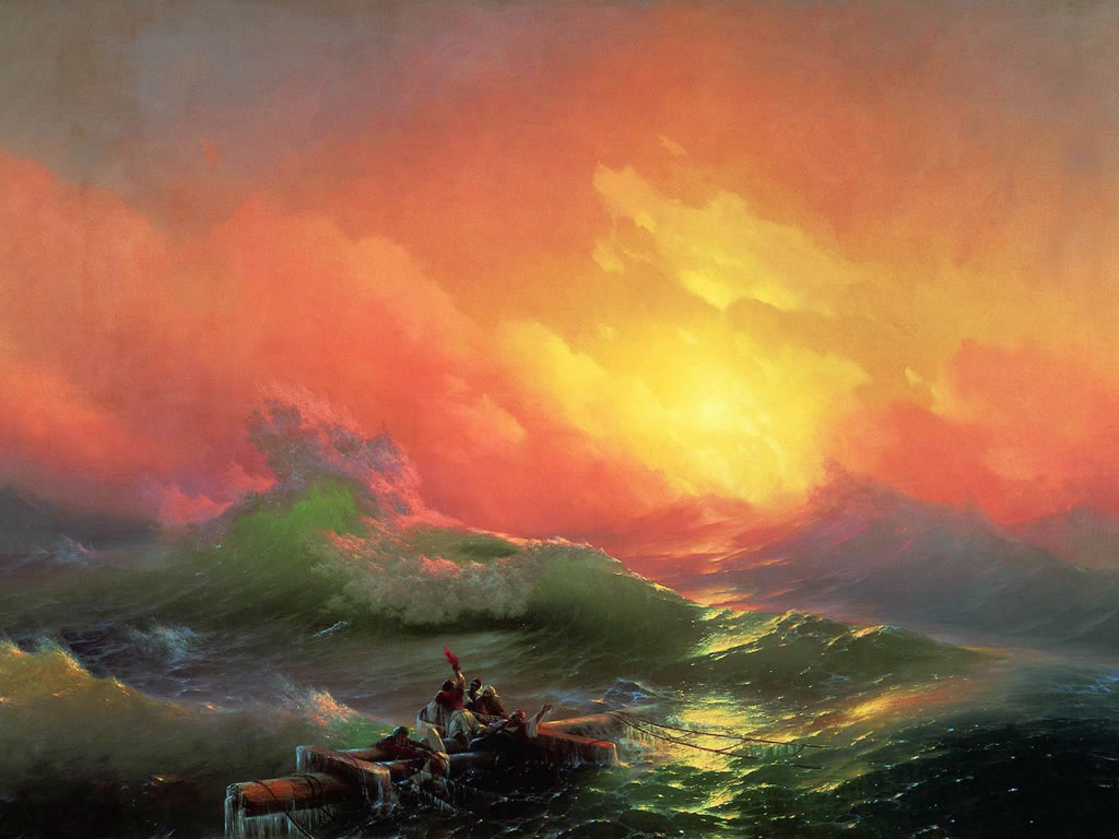 World Famous Paintings Fine Art Painting Wallpaper with 1024x768