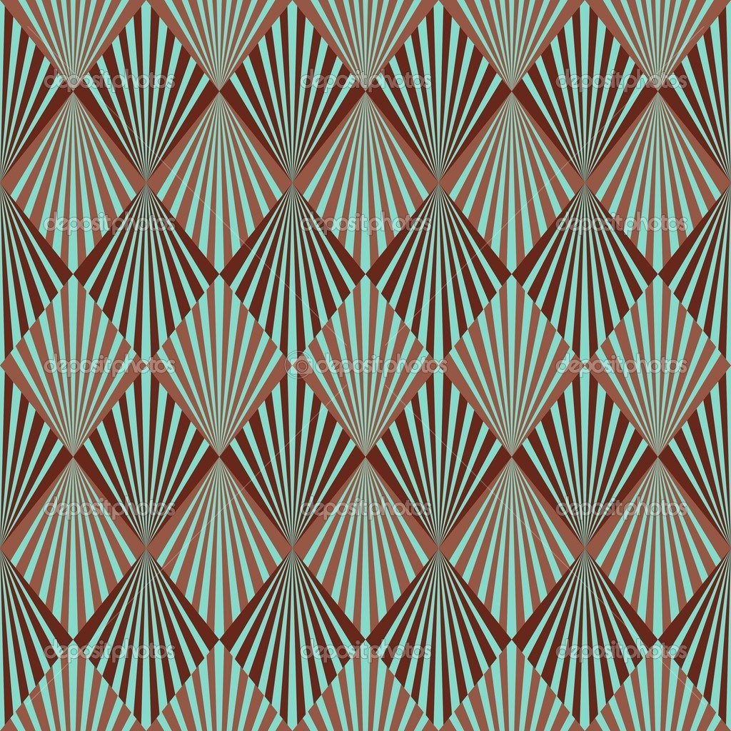 Art Deco Inspired Wallpaper