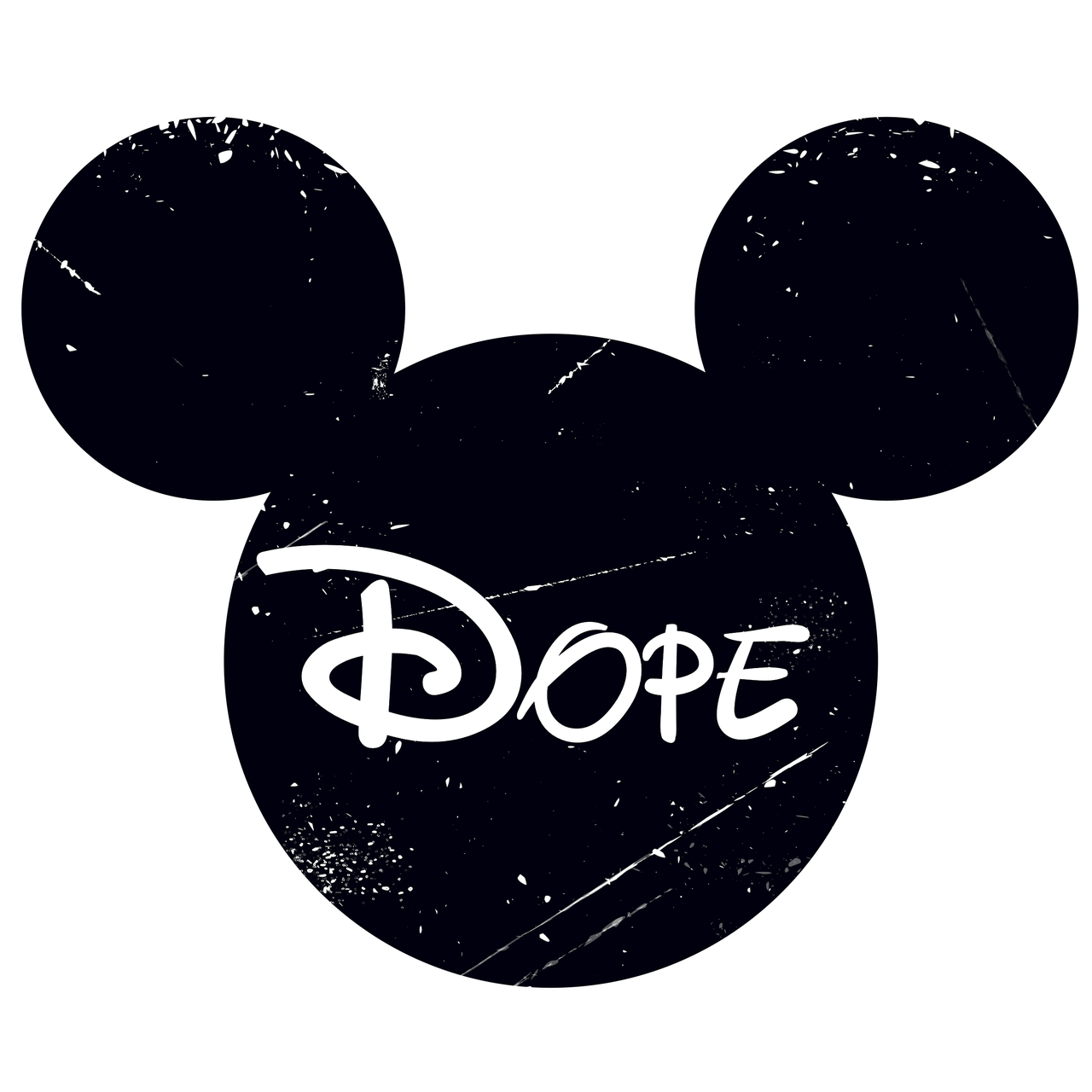 Dope Swag Mickey Mouse Tumblr
