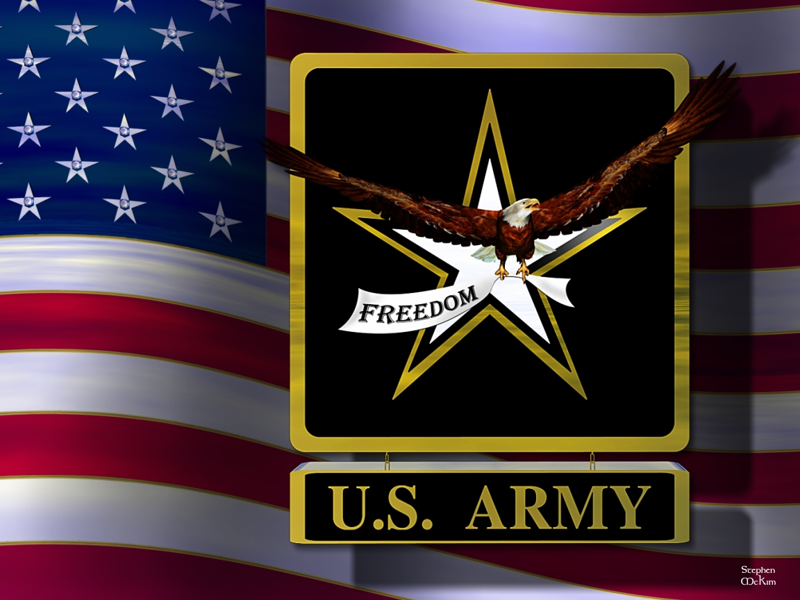 Us Army Logo Wallpaper Militarymckimusmcmarines 1152x864