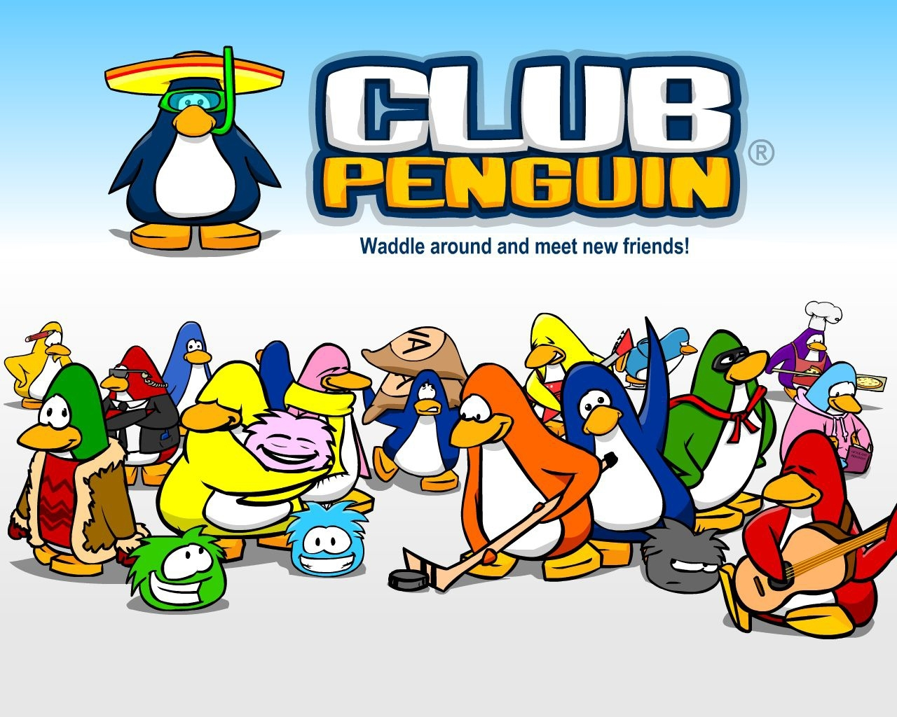 Club Penguin Wallpaper   Club Penguin Wallpaper 3099377 1280x1024