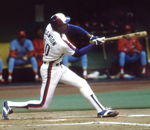 Andre Dawson   Montreal Expos National Parks Wildlife of Canada 517x446