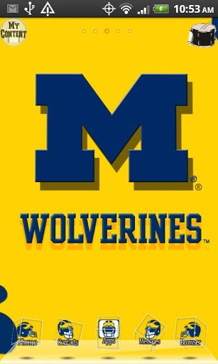 michigan wolverines wallpapers   wwwhigh definition wallpapercom 307x512